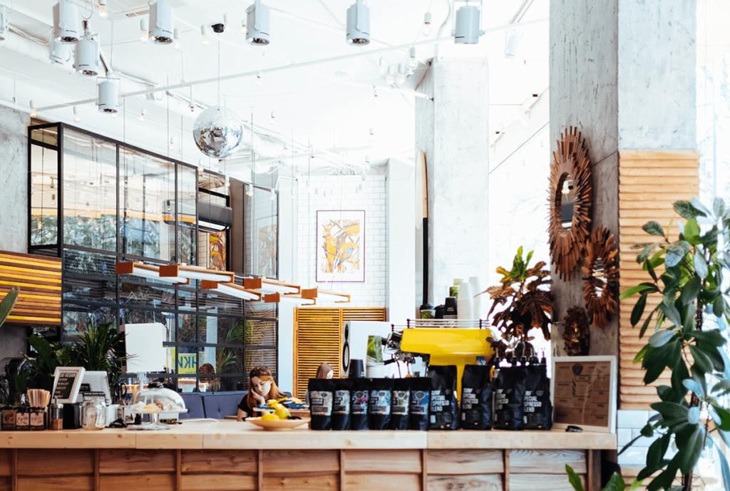 wyposażenie kawiarni - kawiarnia