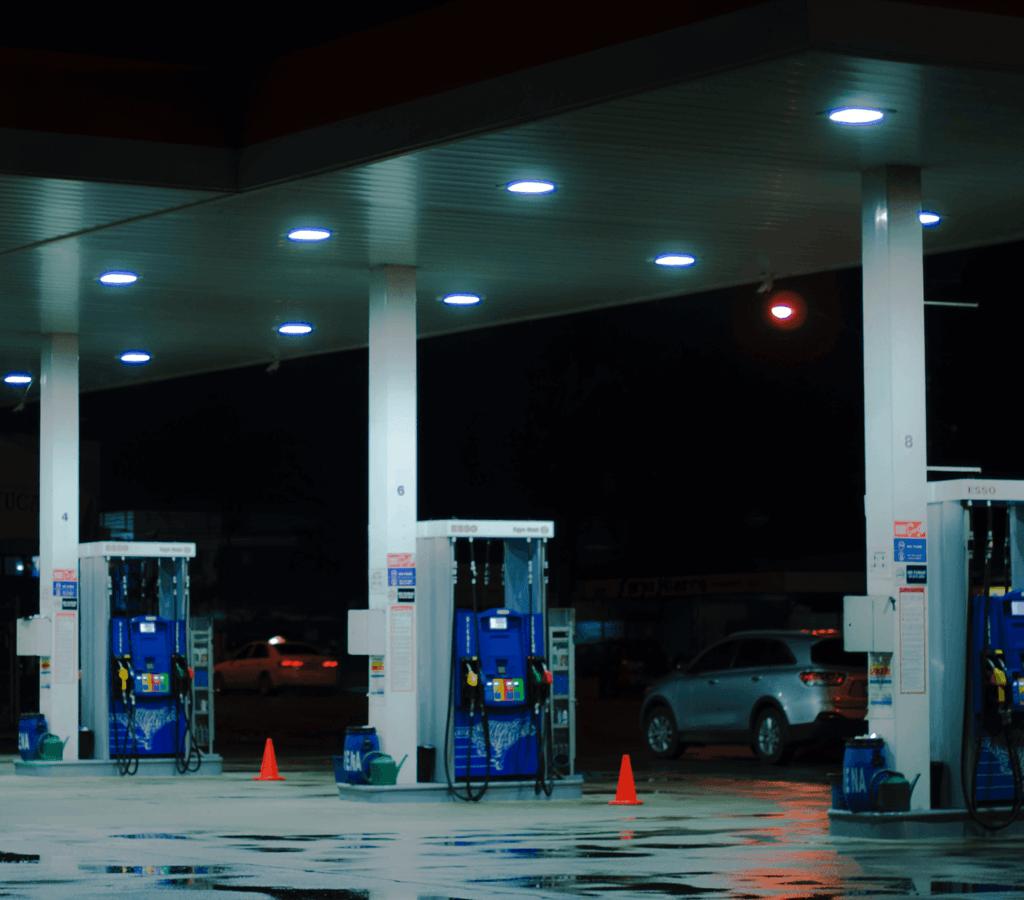 wyposażenie stacji benzynowej